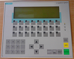 siemens op17 operator panel repaired by focus negineering.